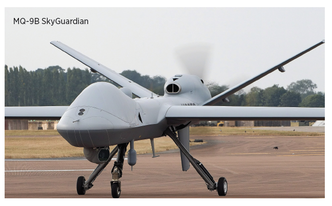 MQ-9B with SkyGuardian