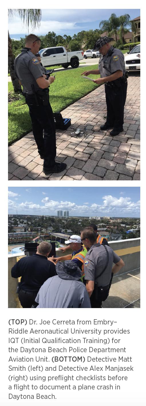 Daytona Beach Police Department UAS training