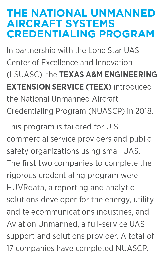THE NATIONAL UNMANNED AIRCRAFT SYSTEMS CREDENTIALING PROGRAM
