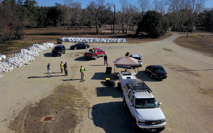 First responders UAS training in South Carolina