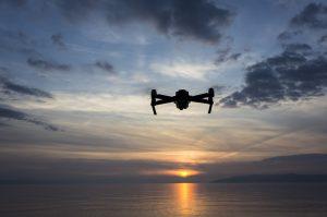 iStock drone sunset