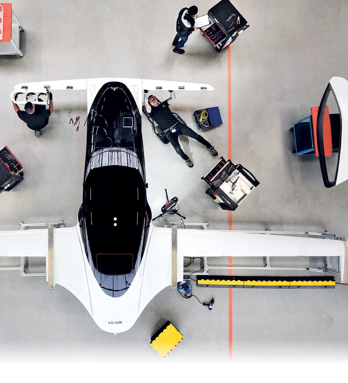 Lilium Jet Engineers