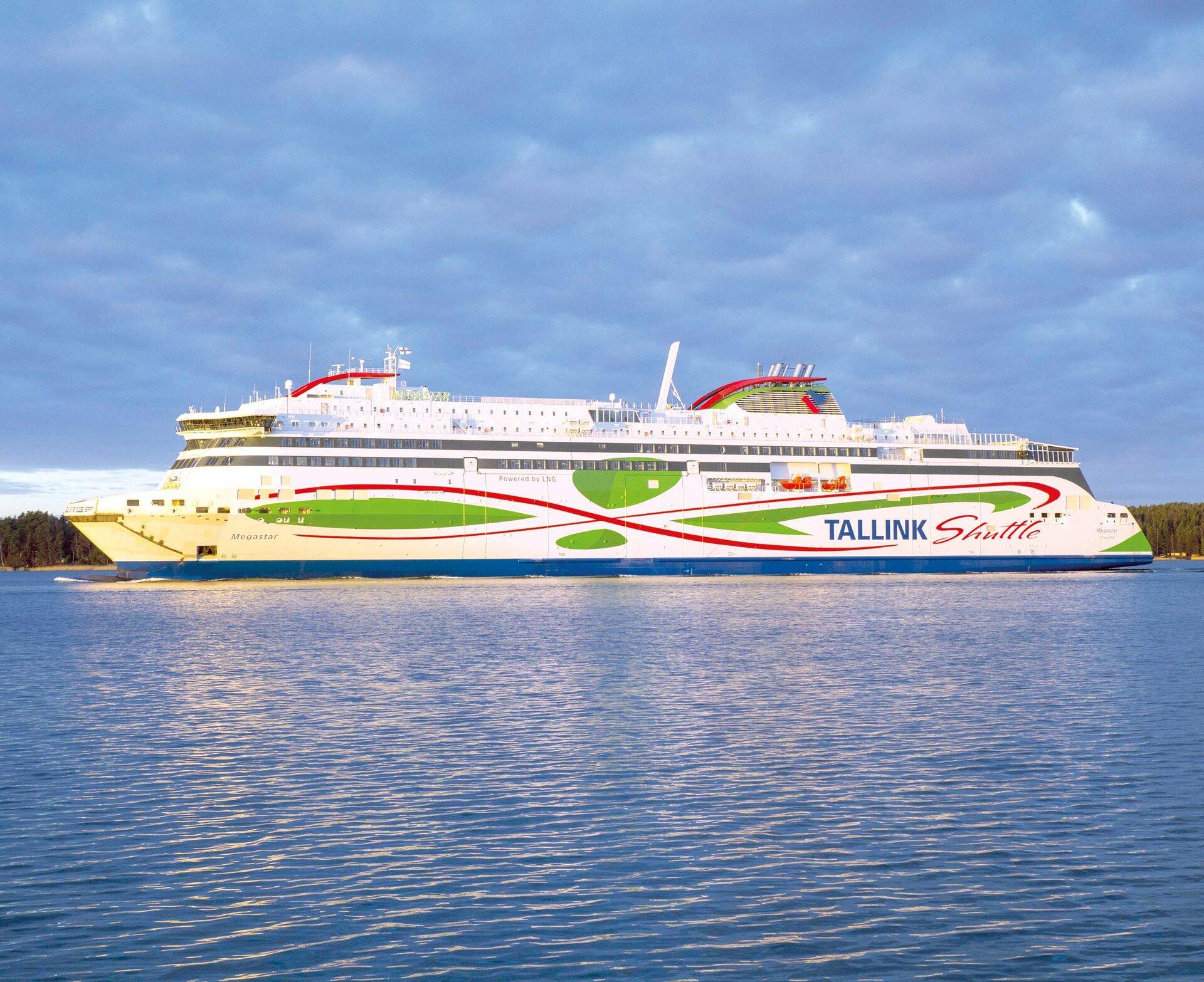 Tallink Megastar ferry, courtesy ESA.