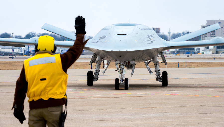 Boeing MQ 25 Stingray copy