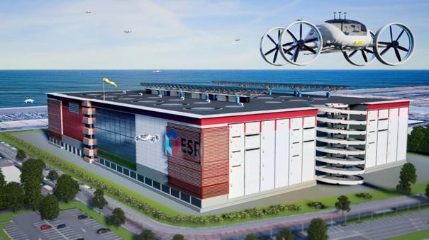 ESR Drone Facility