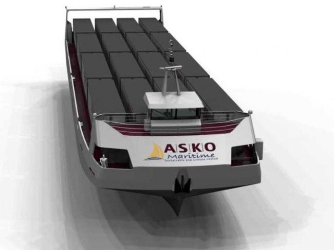Asko Unmanned Barge