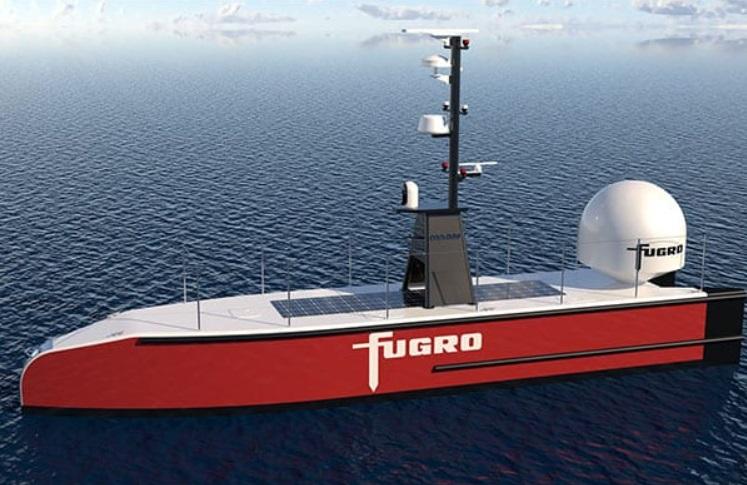 Fugro's Uncrewed Vessel