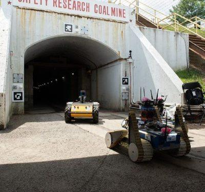 DARPA Subterranean Entrance