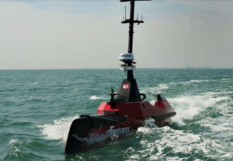 Fugro Autonomous Surface Vessel