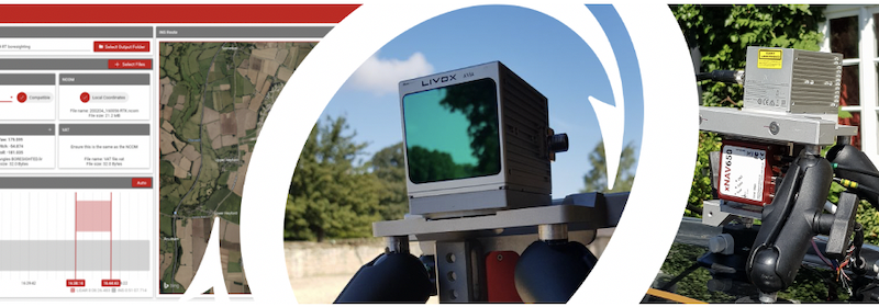 New LiDAR sensors added as OxTS release OxTS Georeferencer 1.5
